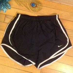 Nike Dri-Fit running shorts, black size small RL33